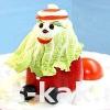 Як приготувати прикраса новорічного столу. Дід Мороз