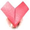 Як зробити серце з паперу