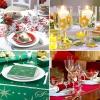 Як прикрасити стіл до нового року оригінально і швидко
