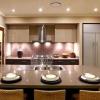 Коричневий колір в інтер'єрі кухні - торжество впевненості, тепла і шарму
