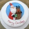 Гарний і смачний торт на новий рік