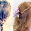 Маленька леді збирається на свято: зачіска для дівчинки на довге волосся