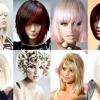 Модні зачіски для середніх волосся 2012