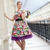 Плаття в стилі стиляг: створюємо яскравий образ