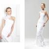 Пряме весільне плаття - витончений весільний образ