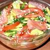 Салати з червоною рибою