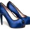 Сині туфлі, з чим носити?