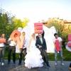 Весілля в стилі love is: романтика з часткою гумору