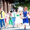 Весілля в стилі стиляги: феєрія веселощів, кольору і музики