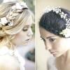 Весільна зачіска з квітами: втілення ніжності