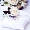 Весільні аксесуари: подушечки для кілець своїми руками