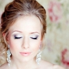 Весільний макіяж для карих очей для неповторного образу