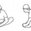 Вправи для розтяжки ніг