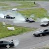 Виконання екстреного повороту на автомобілі