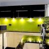 Зелений колір в інтер'єрі кухні